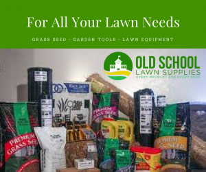 Old School Lawn Supplies Banner