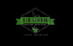 Old School Lawn Service Logo