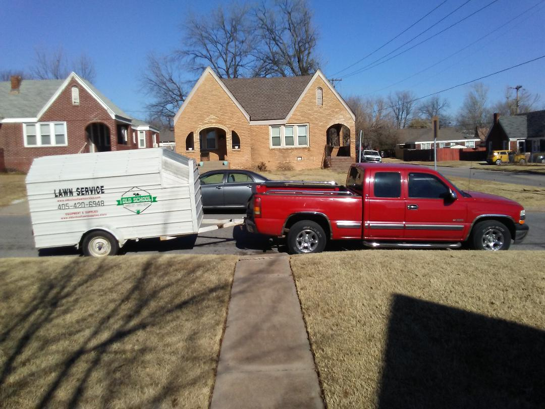 Old School Lawn Service Vehicles – Old School Lawn Service